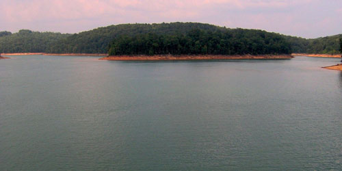 Norris Lake by Brian Stansberry