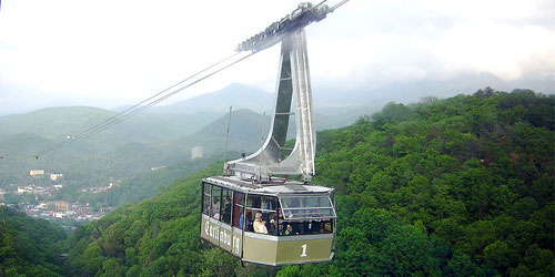 Ober Gatlinburg Aerial Tramway by Chris Hagerman