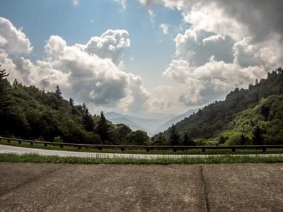 View of Oconaluftee Overlook