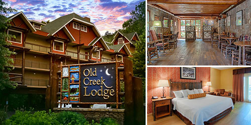 Ad - Old Creek Lodge: Click for website