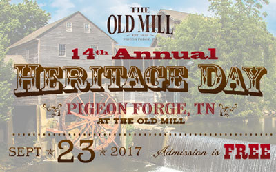 14th Annual Old Mill Heritage Day: Click for event info.