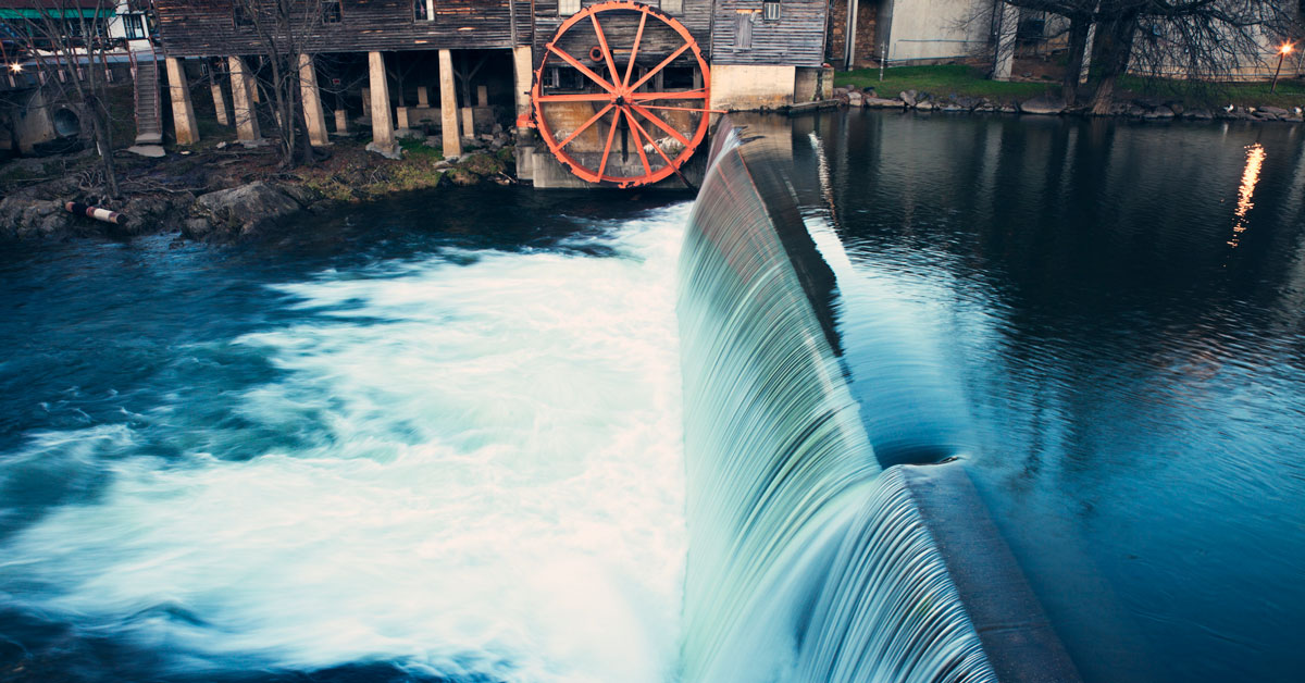 Step Back in Time at the Old Mill in Pigeon Forge