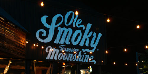 Ole Smoky Moonshine at The Island in Pigeon Forge