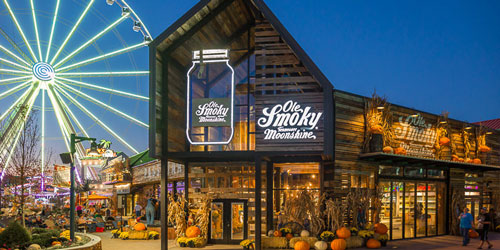 best moonshine in pigeon forge