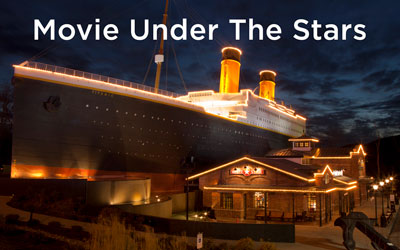 Free Outdoor Movie Under The Stars: Click for event info.