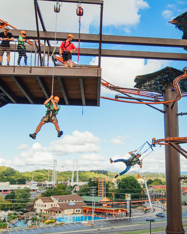 Lumberjack Adventure Park: Click to go to page.