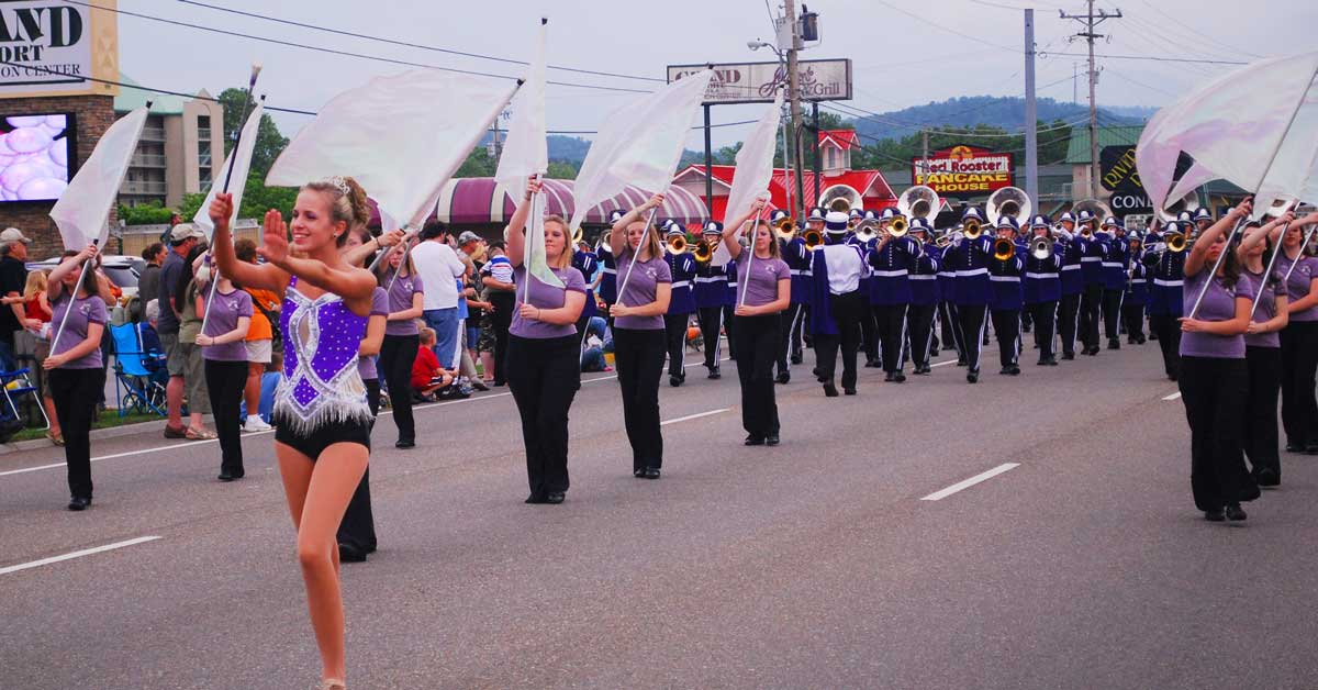 Spring Parade in Pigeon Forge, TN: Click to read more