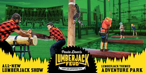 paula deen's lumberjack feud