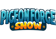 Pigeon Forge Snow logo