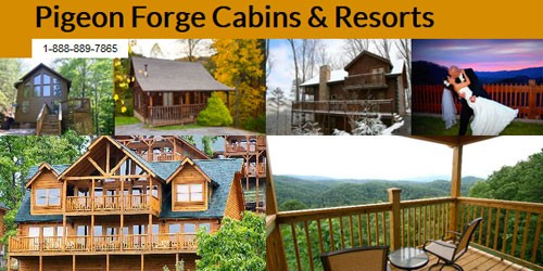 pigeon resort pool cabin copper bathrooms river bedrooms cabins forge htm exterior of