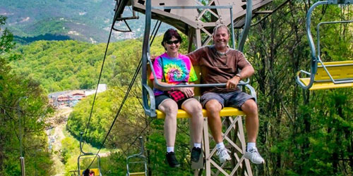Pigeon Forge Chairlift