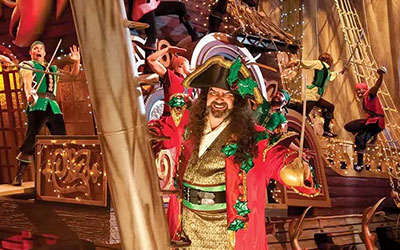 Christmas at Dolly Parton's Pirates Voyage: Click for event info.