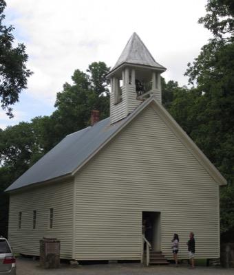 View of Primitive Baptist Church