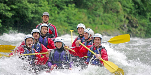 Pigeon Forge Rafting Info: Click to visit page.