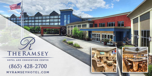 Ad - The Ramsey Hotel and Convention Center: Click for website