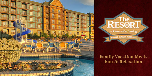 Ad - The Resort at Governor's Crossing: Click for website