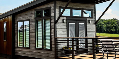Tiny Home Glamping At The Ridge: Click to visit page.