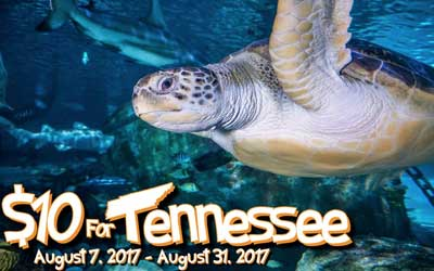 $10 For Tennessee Residents: Click for event info.