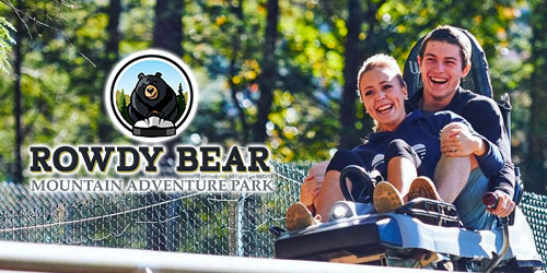 Rowdy Bear Mountain Coaster: Click to visit page.