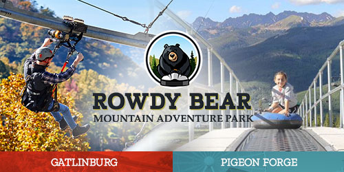 Ad - Rowdy Bear Mountain Adventure Park: Click to visit website.