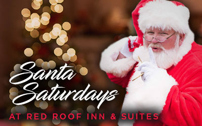 Santa Saturdays At Red Roof Inn: Click for event info.