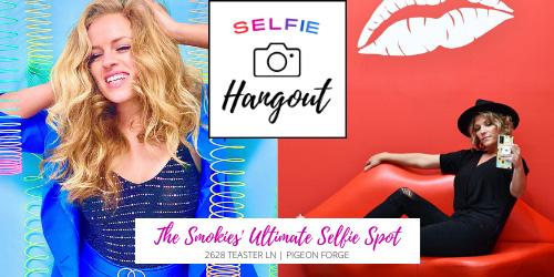 Ad - Selfie Hangout: Click to visit website