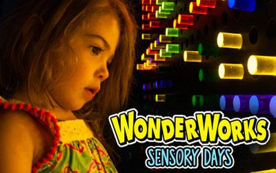 Wonderworks Sensory Days: Click for event info.