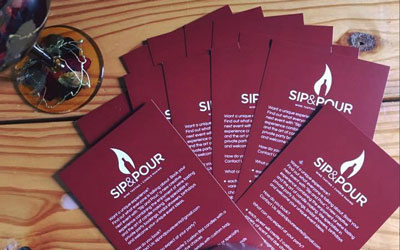 Sip & Pour At Hillside Winery: Click for event info.