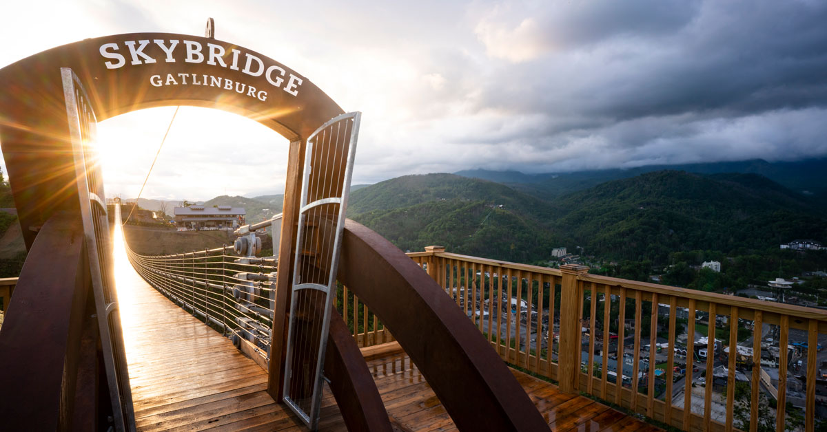 Gatlinburg Skylift Amp Skybridge Best Views In The Smokies