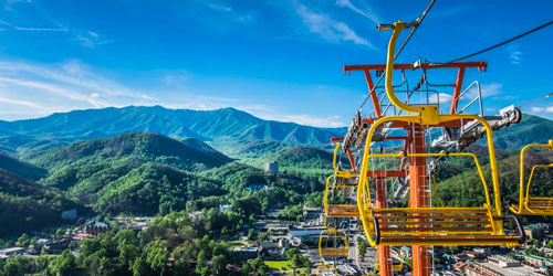Gatlinburg chair lifts - things to do in Smoky Mountains