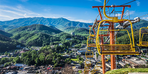 Gatlinburg Skylift: Click to visit page.