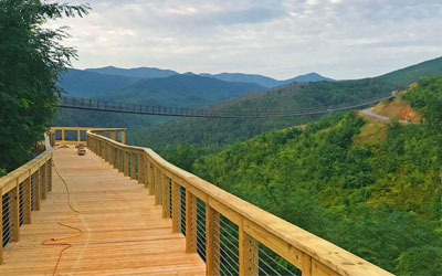 Gatlinburg SkyTrail Opening + Highline Walkers: Click for event info.