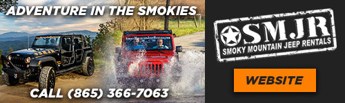 Ad - Smoky Mountain Jeep Rentals: Call (865) 366-7063 or click to visit website.