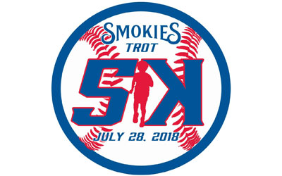 Smokies Trot 5K & 1 Mile Run/Walk @ Smokies Stadium  | Kodak | Tennessee | United States