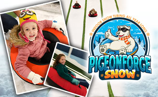 Indoor Snow Tubing At Pigeon Forge Snow