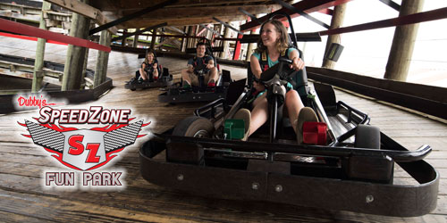 Ad - SpeedZone Fun Park: Click to visit website