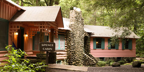 Spence Cabin: Click to visit page.