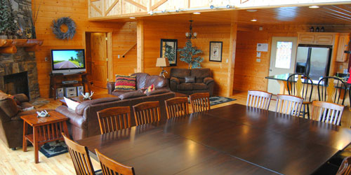 Ad - Soaring Ridge Lodge: Click to book.