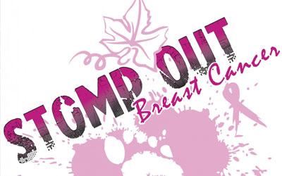 STOMP OUT! Breast Cancer Awareness Walk: Click for event info.