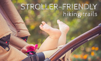 Stroller Friendly Hiking Trails In The Smokies: Click to read more