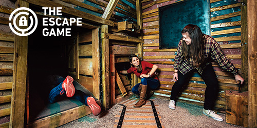 Ad - The Escape Game: Click to visit website