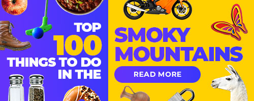 Top 100 things to do in the Smoky Mountains