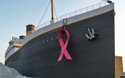 Breast Cancer Awareness Month at Titanic: Click for event info