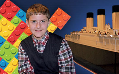 World's Largest Lego Titanic: Click for event info.