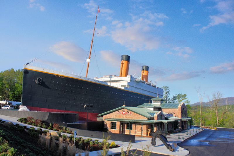 Pigeon Forge Titanic Museum Pigeon Forge Attractions