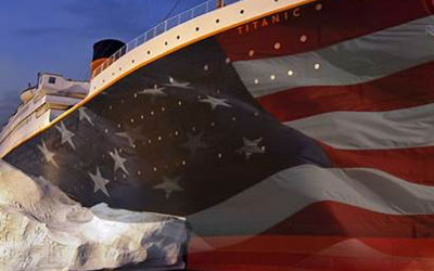 Titanic Honors Veterans: Click for event info.