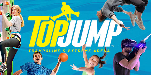 Ad - TopJump Trampoline & Extreme Arena: Click to visit website