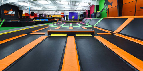 TopJump Trampoline Park: Click to visit page.