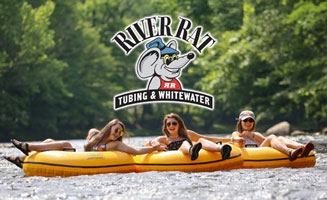 River Rat Tubing In The Smoky Mountains: Click to read more