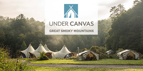 Ad - Under Canvas Great Smoky Mountains: Click to visit website.